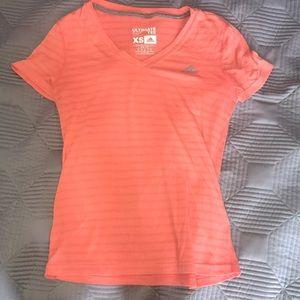Orange adidas top